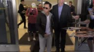 Donnie Yen arriving at LAX airport in Los Angeles in Celebrity Sightings in Los Angeles