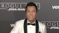 Donnie Yen at 'Rogue One A Star Wars Story' World Premiere at the Pantages Theatre on December 10 2016 in Hollywood California