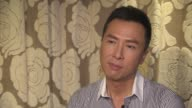 INTERVIEW Donnie Yen on shooting 'Crouching Tiger Hidden Dragon The Green Legend' how he adapted his role in English how Harvey Weinstein conviced...