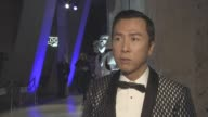 INTERVIEW Donnie Yen on the location for the premiere The Tate Star Wars being the biggest IP not people able to tel people about the story the magic...