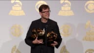 SPEECH Donny McCaslin at 59th Annual Grammy Awards Press Room at Staples Center on February 12 2017 in Los Angeles California
