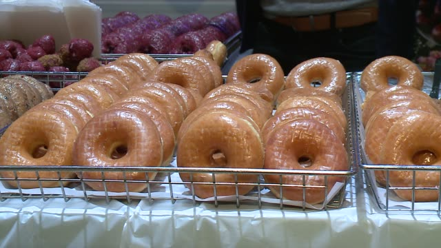 WGN Donuts at a Donut Fest 2016 in Chicago on January 31 2016