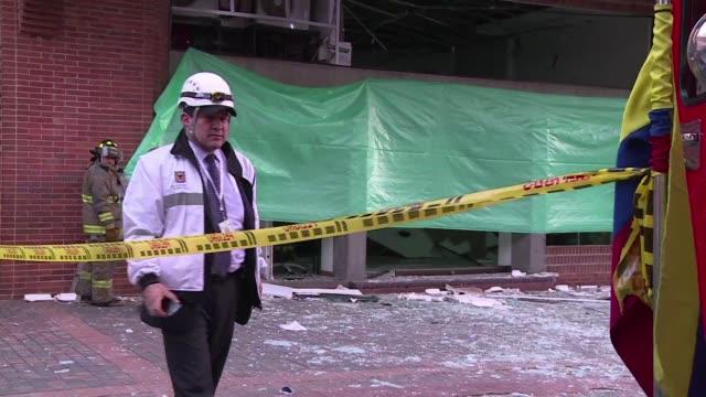Dos explosiones de origen desconocido se registraron la tarde de este jueves en la capital de Colombia una de las cuales dejo al menos cinco heridos