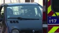 Dos hombres murieron baleados con rifles automaticos AK47 el domingo en Marsella al sur de Francia