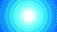 Gepunktete Rad Blau