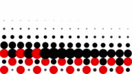 CHESSBOARD PATTERN : dots, line progress, finally disappear (TRANSITION)