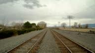 Double Railroad Tracks