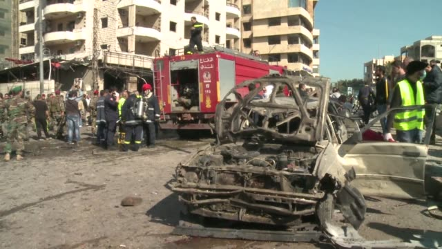 A double suicide car bombing targeted an Iranian cultural centre in Beirut Wednesday killing at least four people in the latest attack linked to the...