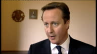 Doubts over future of Barclays Bank Chief Executive after LIBOR rate manipulation ENGLAND Yorkshire INT David Cameron MP interview SOT This is a...