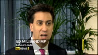 Doubts over future of Barclays Bank Chief Executive after LIBOR rate manipulation INT Ed Miliband MP interview SOT