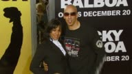 Doug Christie and his wife Jackie at the MGM's 'Rocky Balboa' World Premiere at Grauman's Chinese Theatre in Hollywood California on December 13 2006