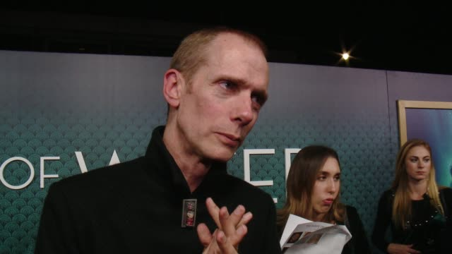 INTERVIEW Doug Jones on working with Guillermo Del Toro for the 6th time the challenge of playing an amphibian man talks about the cast and what the...