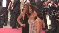 Doutzen Kroes Afef Jnifen Evangeline Lilly at the Cannes Film Festival 2009 Vengeance Steps at Cannes