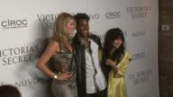 Doutzen Kroes DJ Ruckus and Zoe Kravitz at the Victoria's Secret Hosts Exclusive 2009 What is Sexy List Party at New York NY