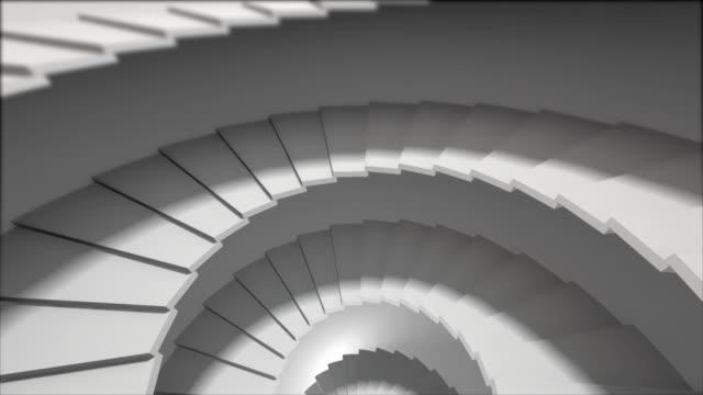 Il basso attraverso scale e approccio concreto alla luce