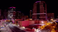 Down Town Phoenix Time lapse at night 15