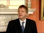 Downing Street press conference with Belgian Prime Minister Guy Verhofstadt press conference SOT Thank you / So I think it is important I have the...