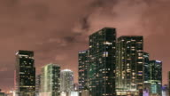 Downtown Brickell Miami Time Lapse