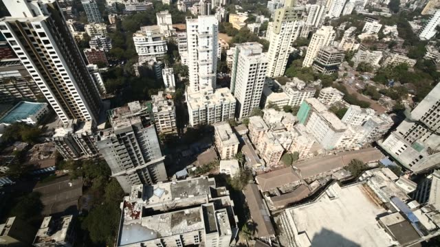 AERIAL Downtown business district / India