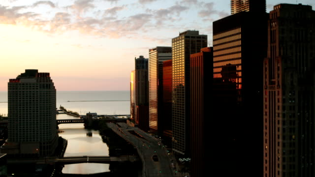 Downtown Chicago Sunrise