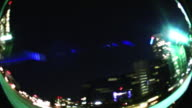 Centro città luci di notte