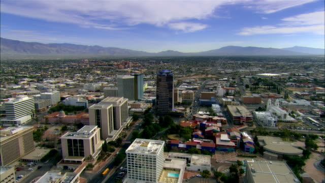 AERIAL, Downtown district, Tucson, Arizona, USA