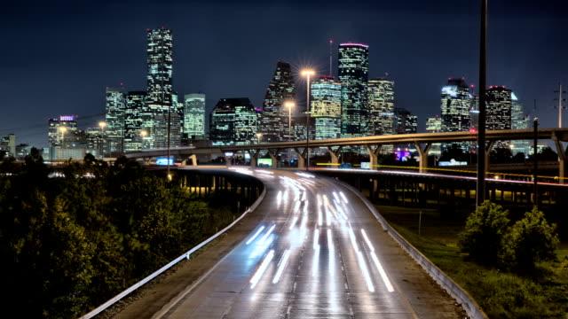 Downtown Houston Traffic Timelapse