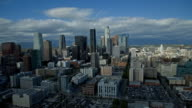 Downtown Los Angeles Day to Night Time Lapse - HD
