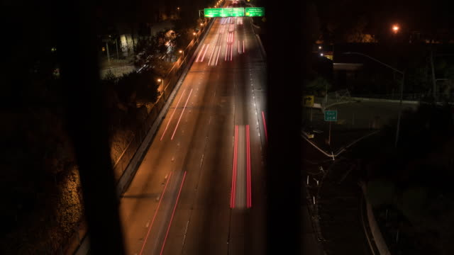 Downtown Los Angeles Highway Timelapse.