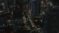 Downtown Miami Florida After Dark