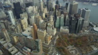 HD AERIAL: Downtown NYC