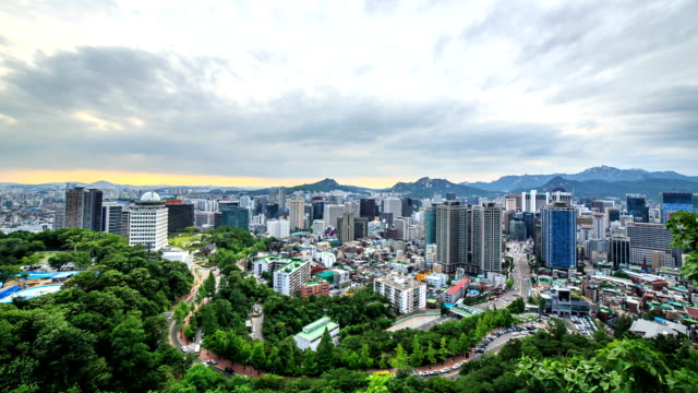Downtown of Seoul (Junggu & Jongnogu Area)