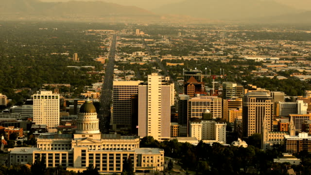 Downtown Salt Lake City Time lapse