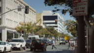 Downtown Santa Monica Traffic