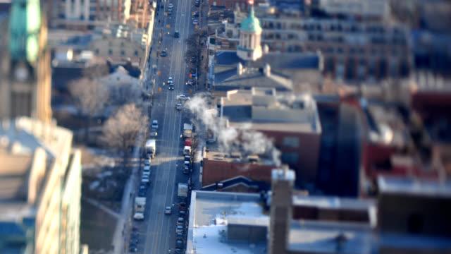Downtown Toronto financial District Time Lapse