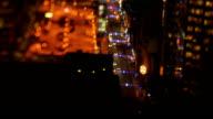Downtown Toronto Timelapse Nighttime with Swing Tilt lens