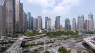 Downtown Traffic/Shang Hai, China