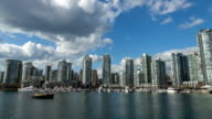 Downtown Vancouver Hyperlapse / timelapse of a perfect spring day (4K)