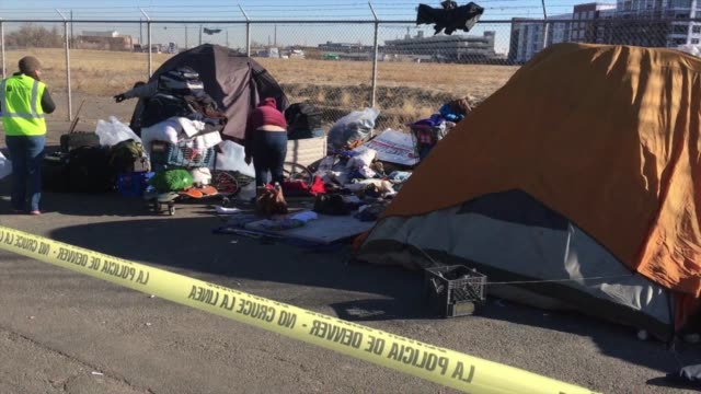 KDVR Dozens of homeless people were swept out of their encampment which had been growing for months on January 26 in Denver's Ballpark neighborhood...
