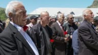 Dozens of people gathered in the Turkish town of Tunceli on Wednesday which hosted a landmark ceremony for Genocide Remembrance Day to commemorate...