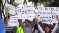Dozens of relatives of victims who are trapped dead or alive in a collapsed building in the Roma neighbourhood of Mexico City are asking authorities...