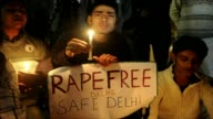 Dozens of students demontrated on Thursday near the India gate monument in central Delhi over the gang rape of a 23 year old student who was left...
