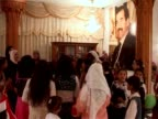 Dozens of Sunni Arabs marked the birthday of Iraq's executed former president Saddam Hussein on Tuesday by reading poems and verses from the Koran in...