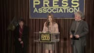 Dr Aida Takla O'Reilly Amy Adams and Pedro Almodovar at the Hollywood Foreign Press Association's Cecil B DeMille Award Recipient Announcement at...