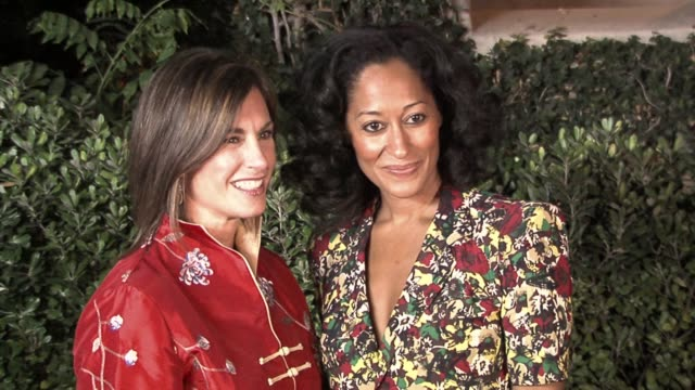 Dr Beth Karlan and Tracee Ellis Ross at the Fred Segal and the CedarsSinai Medical Center Women's Cancer Research Institute Host Design A Cure at a...