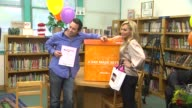 Dr Paul Nassif Adrienne Maloof at the OfficeMax's 'A Day Made Better' School Advocacy Campaign With Adrienne Maloof And Dr Paul Nassif at Sherman...