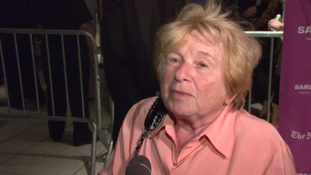 Dr Ruth Westheimer on what brings her out tonight her recent trip to the Middle East on which she will be lecturing and the best sex advice she has...