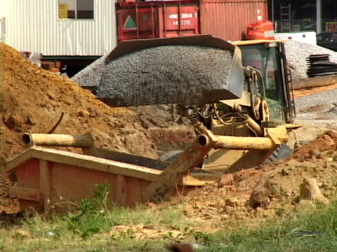 Drainage Ditch Construction
