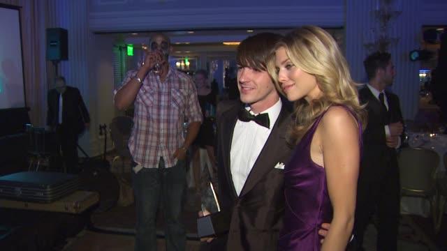 Drake Bell AnnaLynne McCord at the The Inaugural Thirst Gala at Santa Monica CA