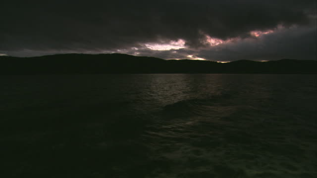 WS, Dramatic sky above Beagle Channel